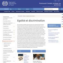 Egalité et discrimination