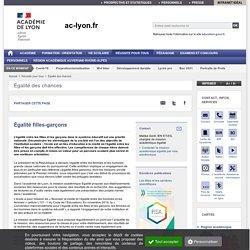 Égalité filles-garçons - ac-lyon.fr