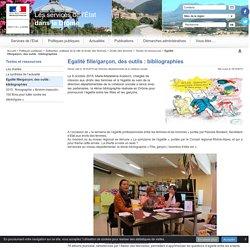Egalité fille/garçon, des outils: bibliographies - Site IDE de la Drome
