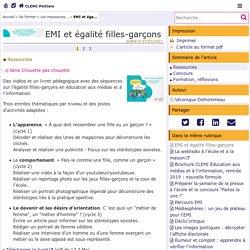 EMI et égalité filles-garçons - CLEMI Poitiers