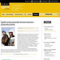 Egalité professionnelle femme - homme en Bretagne