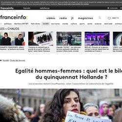 Egalité hommes-femmes: quel est le bilan du quinquennat Hollande?