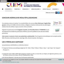 Concours #ZéroCliché #ÉgalitéFillesGarçons(Date imite : 14/04/2017)