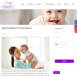 Egg Donation For Surrogacy