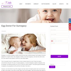 Egg Donor For Surrogacy