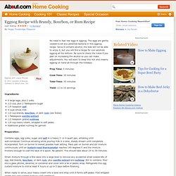 Eggnog Recipe with Brandy, Bourbon, or Rum Recipe - How to make eggnog ...