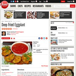 Deep Fried Eggplant Recipe : Emeril Lagasse