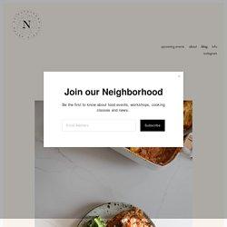Honey Baked Eggplant — Neighborhood Studio