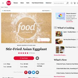 Stir-Fried Asian Eggplant Recipe :