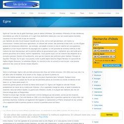 Egine, guide touristique île de Egine, Grèce
