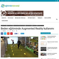Beden eğitiminde Augmented Reality kullanımı