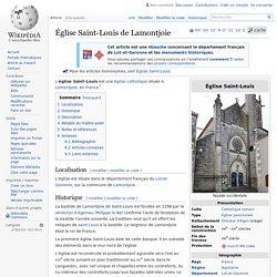 Église Saint-Louis de Lamontjoie