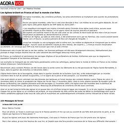 Les églises brûlent en France et tout le monde s'en fiche