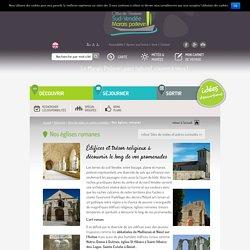 Nos églises romanes - Office de Tourisme Sud-Vendée Marais Poitevin