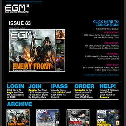 EGMi - The Digital Magazine | EGMi