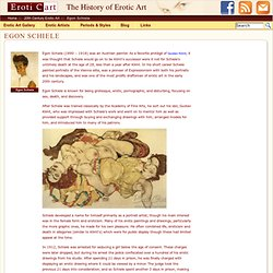 Egon Schiele : History of Erotic Art