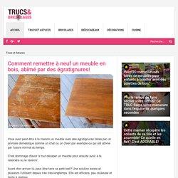 Comment remettre à neuf un meuble en bois, abîmé par des égratignures! - Trucs et Astuces - Trucs et Bricolages