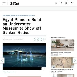 Egypt to Build an Underwater Museum