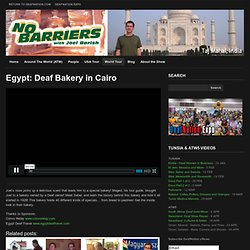 Egypt: Deaf Bakery in Cairo