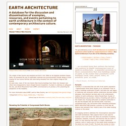 Egypt - Earth Architecture