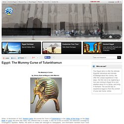 The Mummy Curse of Tutankhamun