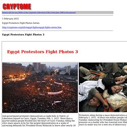 Egypt Protestors Fight Photos 3