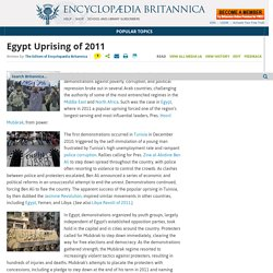 Egypt Uprising of 2011