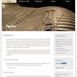 Égypte ancienne, Égypte antique : Histoire de l'Égypte ancienne