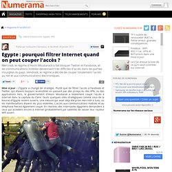 Egypte : arrestations massives et censure d'Internet accentuée