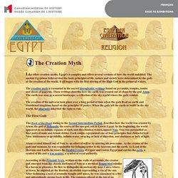Egyptian civilization - Myths - Creation myth