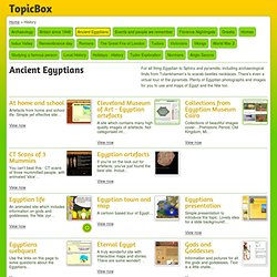 Ancient Egyptians History TopicBox
