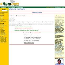 Ham Radio Practice Exams