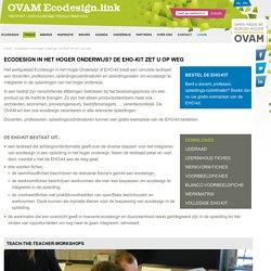 Ecodesign in het hoger onderwijs- EHO-kit
