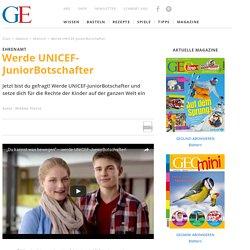 Ehrenamt: Werde UNICEF-JuniorBotschafter - [GEOLINO]