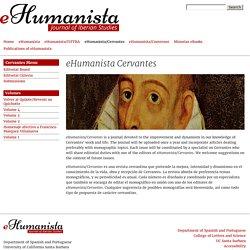 eHumanista - UC Santa Barbara
