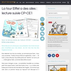 La tour Eiffel a des ailes : lecture suivie CP-CE1