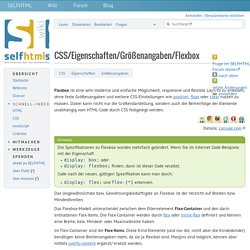 CSS/Eigenschaften/Größenangaben/Flexbox – SELFHTML-Wiki