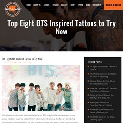 Top Eight BTS Inspired Tattoos to Try Now