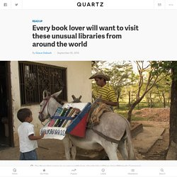 Eight of the world's most unusual libraries — Quartz