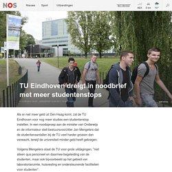 12-05-2017 - TU Eindhoven dreigt in noodbrief met meer studentenstops