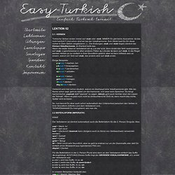 Einfach kostenlos online Türkisch lernen! - Von Berlin über New York bis Tokyo im Web bei jedem Wetter!