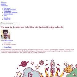 Wie man in 4 einfachen Schritten ein Design-Briefing schreibt - 99designs Blog
