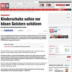 Eingemauert! Kinderschuhe sollen vor bösen Geistern schützen - Düsseldorf
