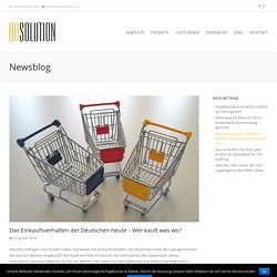 Das Einkaufsverhalten der Deutschen heute - Wer kauft was wo? - Adsolution