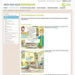 Deutsch üben - Deutsch üben - Spiel – Die Einladung zur Hochzeit-Goethe-Institut