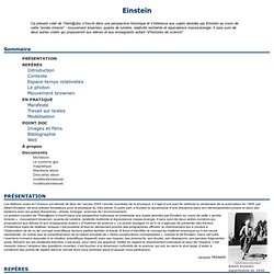 A Biography of Albert Einstein, a German-American Physicist