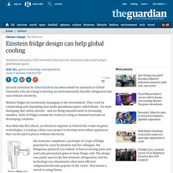 The Guardian - Einstein Fridge
