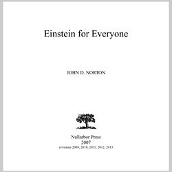 Einstein for Everyone - StumbleUpon