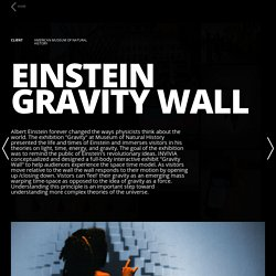 Einstein Gravity Wall – INVIVIA