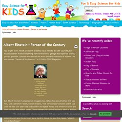 Fun Albert Einstein Facts for KidsEasy Science For Kids